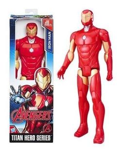 Muñeco Iron Man Figura Accion Original Hasbro (c0756)