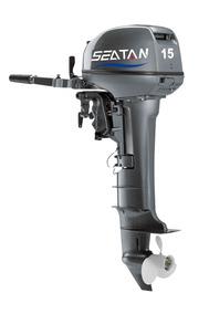 Motor De Popa 15 Hp Seatan Partida Manual