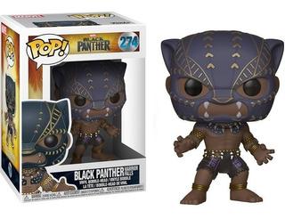 Funko Pop Figura Black Panther Int 23130 Original Wabro