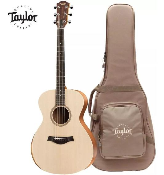 Violão Elétrico Taylor Academy 12e Aço Natural C/ Bag / Nfe