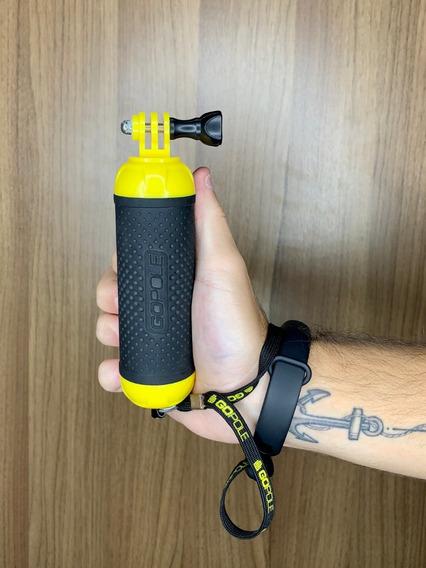 Bastão De Mão Flutuante Usado Gopole Para Câmeras Gopro!