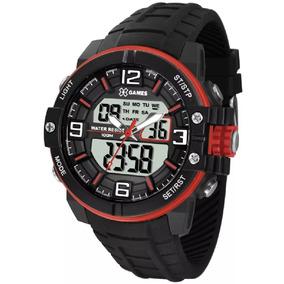 Relógio Masculino X-games Anadigi Xmppa228 Bxpx - Preto