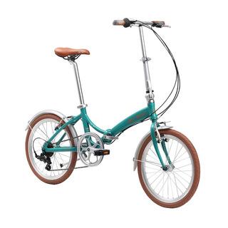 Bicicleta Dobrável Durban Rio Aro 20 6 Marchas Turquesa