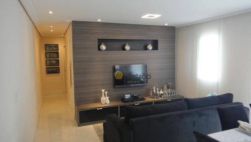 Imagem 1 de 20 de Apartamento Com 3 Dormitórios À Venda, 76 M² Por R$ 480.000,00 - Taboão - São Bernardo Do Campo/sp - Ap2927