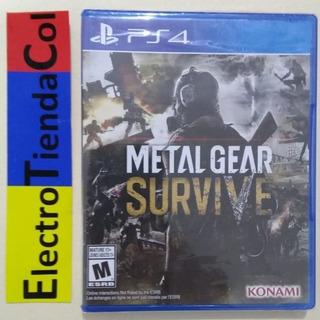 Metal Gear Survive Ps4 Físico Nuevo Sellado Español