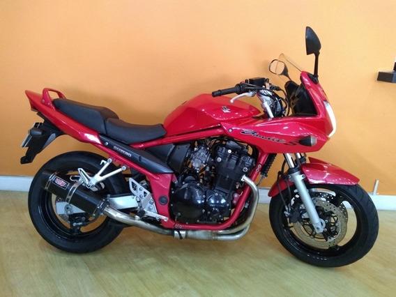 Suzuki Bandit 650 S 2008 Vermelha