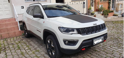Jeep Compass Trailhawk Diesel Branco Com Pacote Hightech !!!