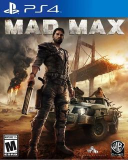 Mad Max Ps4 En Español Original Tenelo Hoy