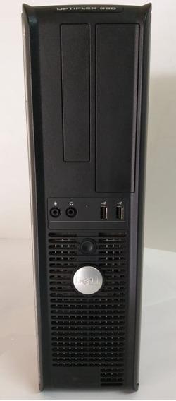 Cpu Core 2 Duo 4gb Memória Hd 160gb Dvdrw Dell C/ Win