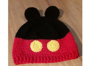 181b2ba7d Gorro Tejido Crochet Detalles Mickey Mouse Ninos - Ropa y Accesorios ...