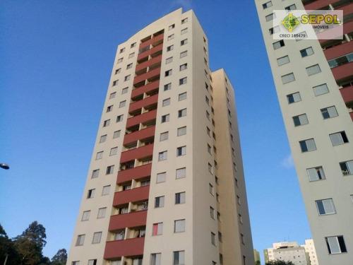 Apartamento Com 3 Dormitórios À Venda, 56 M² Por R$ 266.000,01 - Jardim Santa Terezinha (zona Leste) - São Paulo/sp - Ap0152