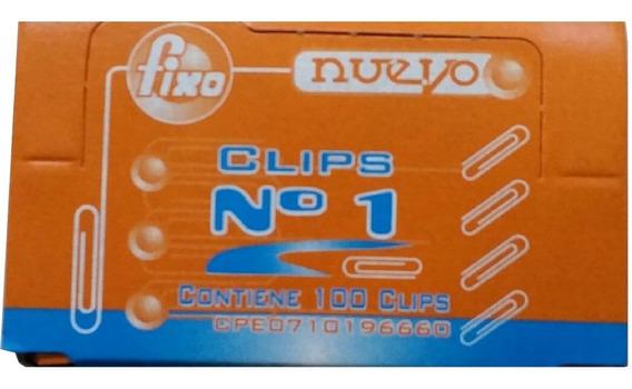 Clip Fixo Cajax100 X10 Oficinatuya
