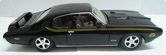 Miniatura Pontiac Judge Gto 1969 - Escala 1/24