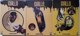 3 Boxes Dvd Giallo (12 Filmes) Terror Italiano (lacrados)