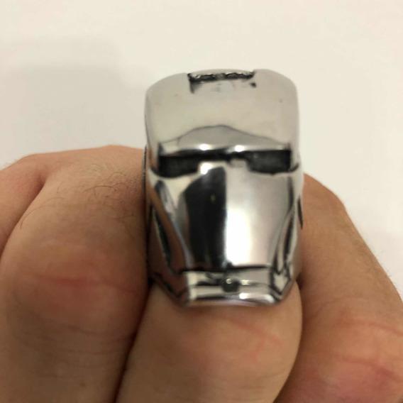 Anel Iron Man - Aço Inox - 29