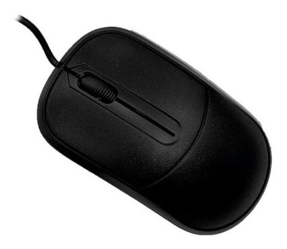Mouse C3 Tech Óptico Usb Ck-ms35 Preto Barato C/ Nota Fiscal