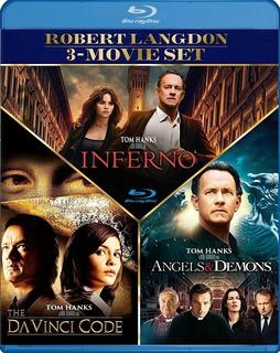 Codigo Da Vinci Bluray Latino Robert Langdon Trilogia