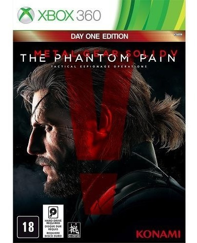 Jogo Xbox 360 Metal Gear Solid V The Phantom Pain - Day One