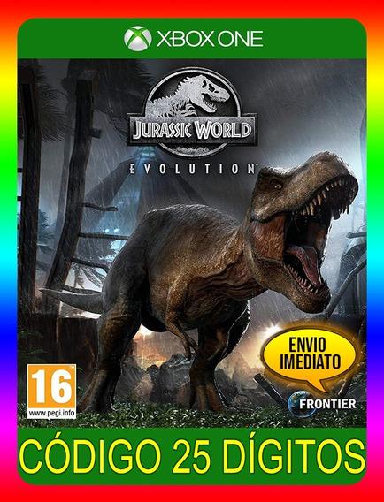 Jurassic World Evolution Xbox One - 25 Dígitos (envio Já)