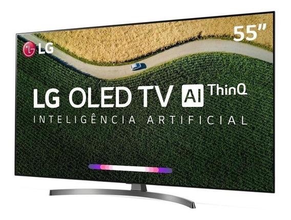Smart Tv Lg 55 Oled Uhd 4k Controle Smart Magic Oled55b9psb