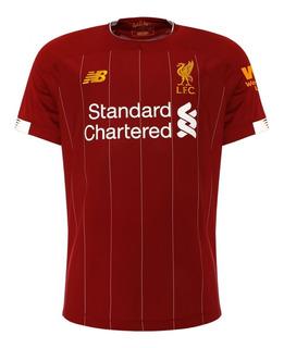 Camisa Liverpool Vermelha 2019/2020 Promoção + Frete Grátis