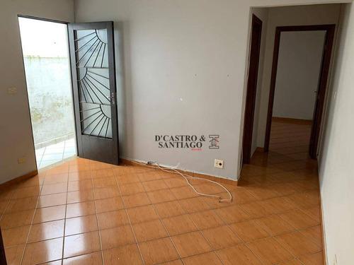 Casa Com 1 Dormitório Para Alugar, 40 M² Por R$ 1.300,00/mês - Mooca (zona Leste) - São Paulo/sp - Ca0160