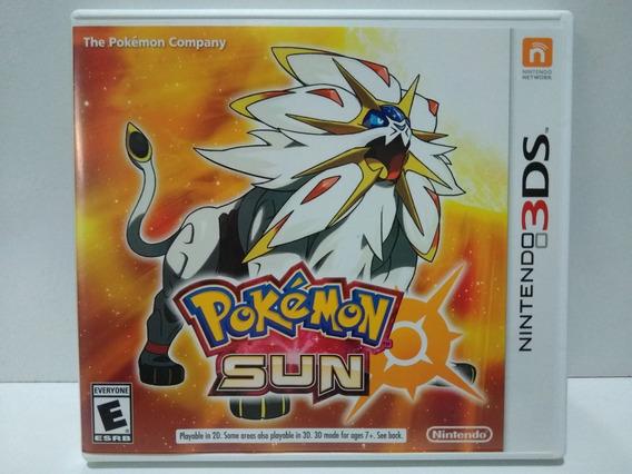 Pokémon Sun - 3ds Mídia Física Original