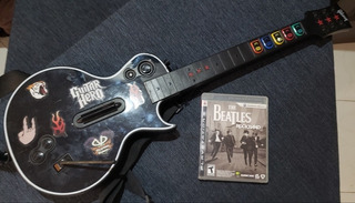 The Beatles Ps3 Guitar Hero