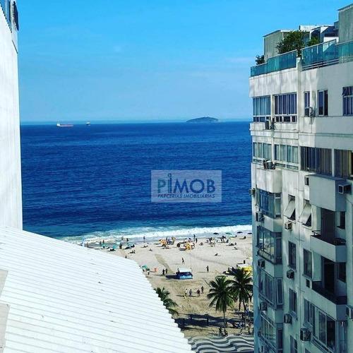 Imagem 1 de 22 de Cobertura Com 2 Dormitórios À Venda, 103 M² Por R$ 1.750.000,00 - Leme - Rio De Janeiro/rj - Co0149