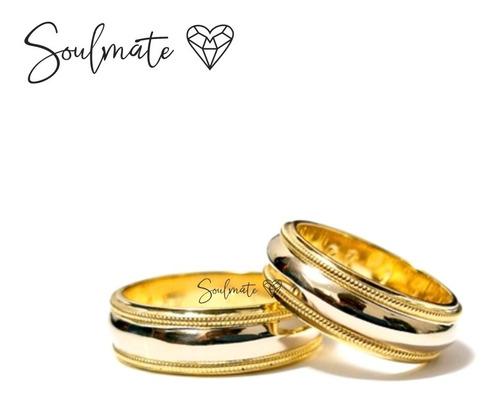 Aros Anillos Alianza Matrimonio Aniversario Novio Plata Oro