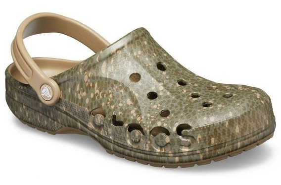 Crocs Baya Graphic Army Green Unisex Clog