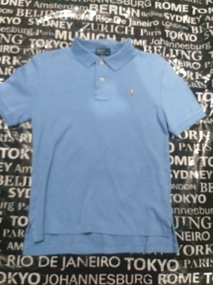 Playera Polo Ralph Laurent 10-12 Niño N-hilfiger Lacoste