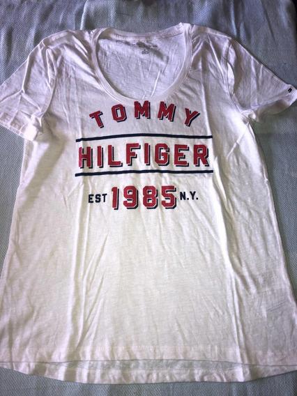 Remera Tommy Hilfiger T.m Mujer Original Varios Modelos