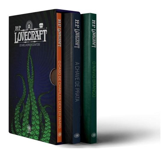 Pré-venda Box - Hp Lovecraft - Os Melhores Contos - 3 Volum