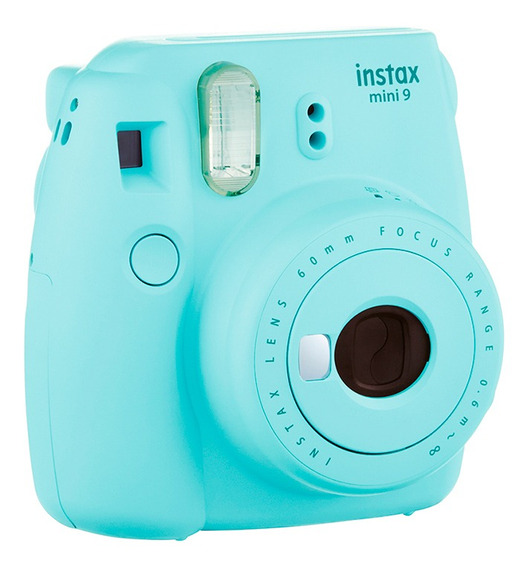 Câmera Instax Mini 9 Azul Aqua Garantia 1 Ano