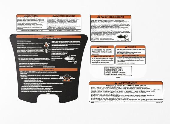 Kit Etiqueta Adesivos Jet Ski Yamaha Vx Jtki15