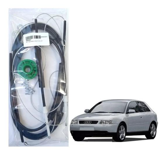 Kit Reparo Máquina Vidro Elétrico L/direito Audi A3 2portas