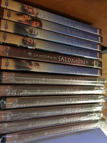 La Biblia Colección De 12 Películas De En Dvd Originales