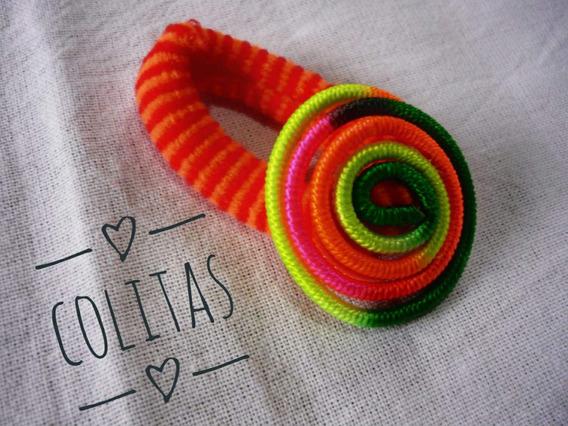 Colitas Para El Cabello, Colores Varios- Pack X 2 Unidades-