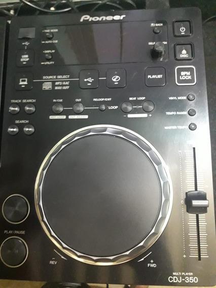 Par De Cdj 350 + Mix Djm500 + Case Reforçado Ac Trocas
