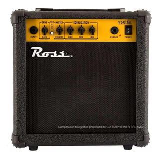 Amplificador Para Guitarra Con Distorsión 15w Ross Superior