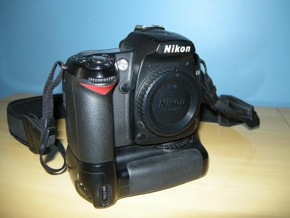 Corpo Nikon D-90 Com Grip Vertical Mbd-80 Original