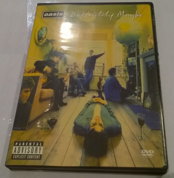 Definitely Maybe, Oasis - 2dvd 2004 Made In Usa Nm/ex