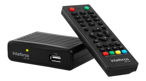 Gravador E Conversor Digital Para Tv Intelbras Cd730 Hdmi Nf