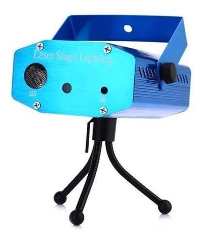 Imagen 1 de 9 de Laser Lluvia Audioritmico Multipunto Luces Fiestas Dj
