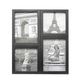 Painel De Fotos Kapos Para 4 Fotos - Preto