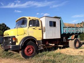 Caminhão Mercedes-benz L-1113 - 1979 - Com Cabine Auxiliar