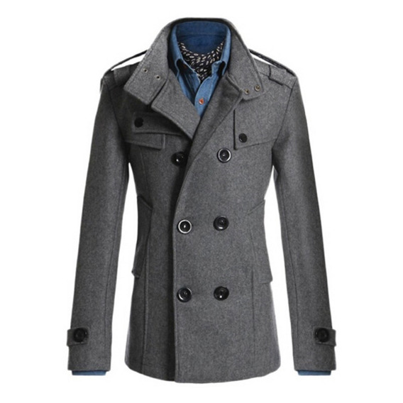 Casaco Blazer Jaqueta De Lã Forrado Masculino Importado