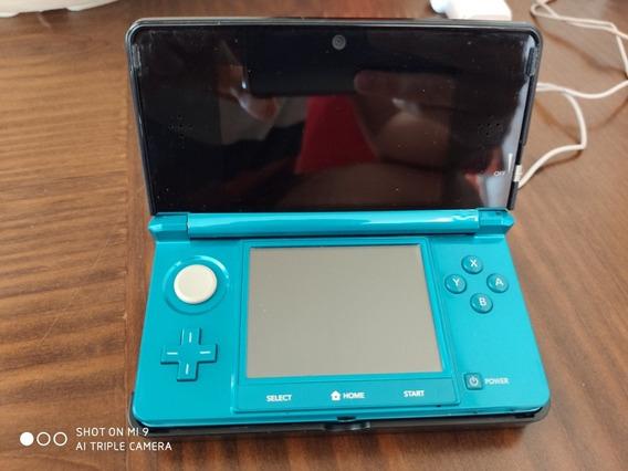 Nintendo 3ds Old Special Edition Aqua Blue