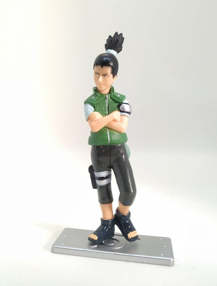 Miniatura Action Figure Shikamaru Naruto 10cm